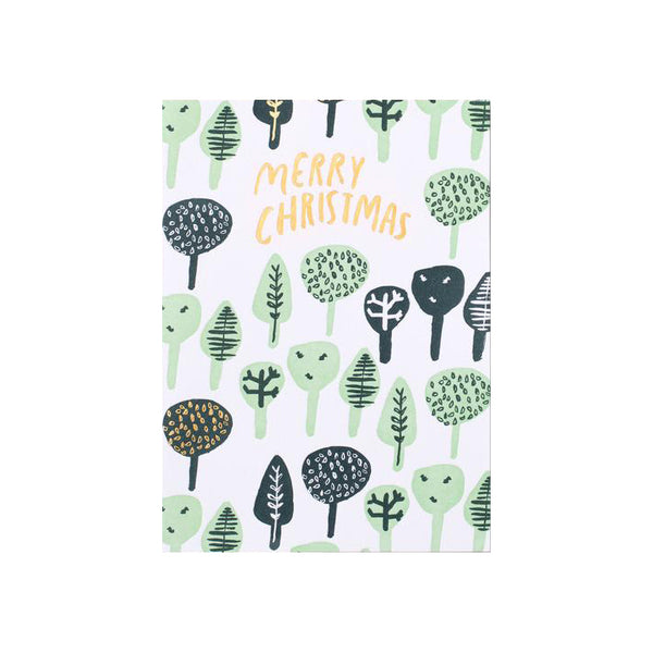 Christmas Tree Repeat Card by Egg Press