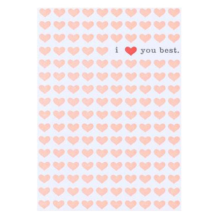 I Love You Best Card by Egg Press