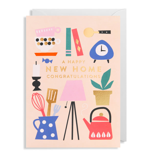Ekaterina Trukhan A Happy New Home Card by Lagom