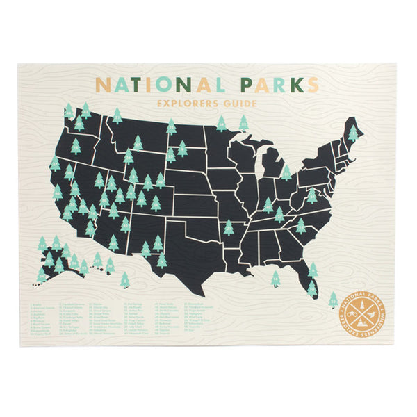 National Parks Screenprint by Ello There