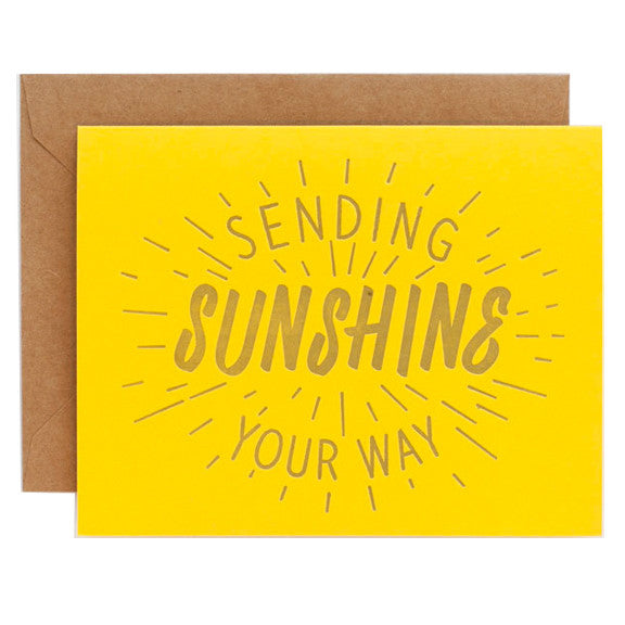 Sending Sunshine Card by Ello There