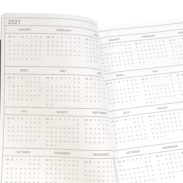 2021 Weekly & Monthly Planner by Els & Nel