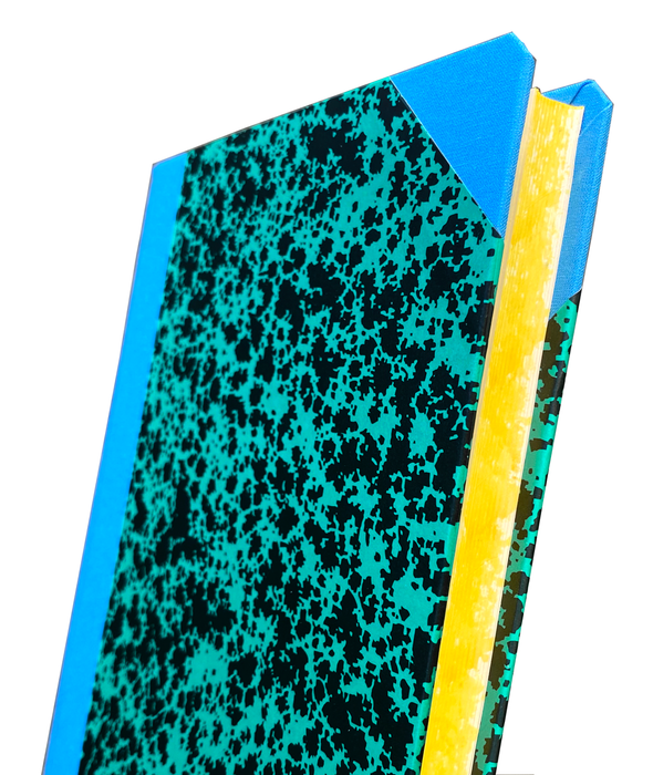 LO Custom Large Green Notebook by Emilio Braga