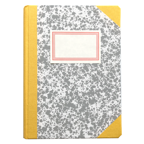 Exclusive A5 Gray Notebook by Emilio Braga