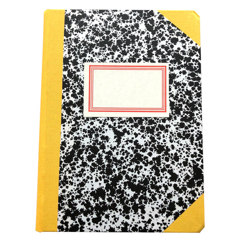 Livro Peb A5 Yellow Notebook by Emilio Braga