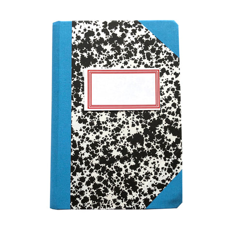Livro Peb A6 Light Blue Notebook by Emilio Braga