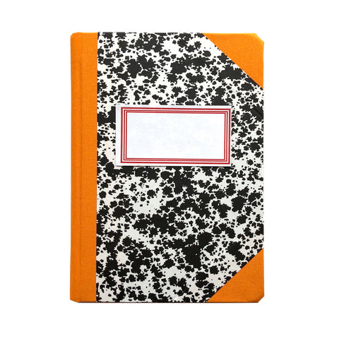 Livro Peb A6 Orange Notebook by Emilio Braga