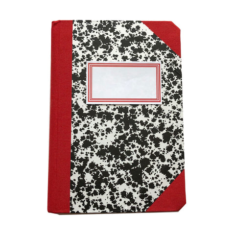 Livro Peb A6 Red Notebook by Emilio Braga