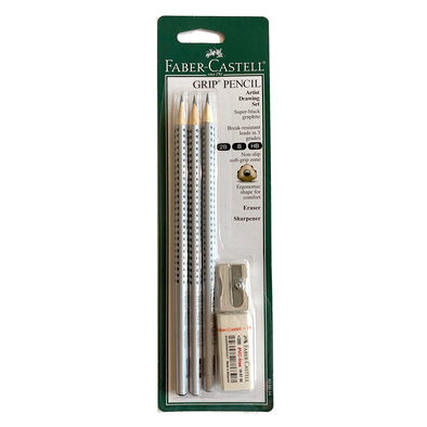 Grip Pencil Artist Drawing Set by Faber-Castell