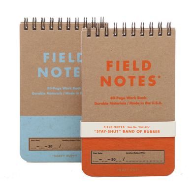 Heavy Duty Work Books by Field Notes