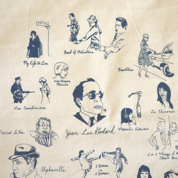 Jean-Luc Godard Tote by Nathan Gelgud