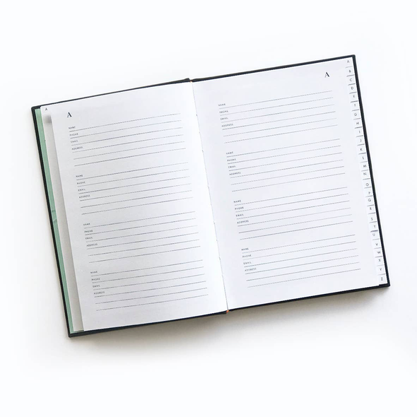 Globe Trotter Address Book by Idlewild