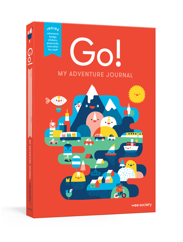 Go! My Adventure Journal by Wee Society