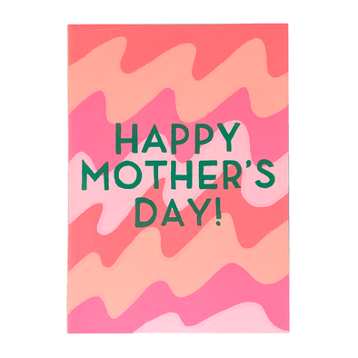 Mother's Day Waves Card by Gold Teeth Brooklyn
