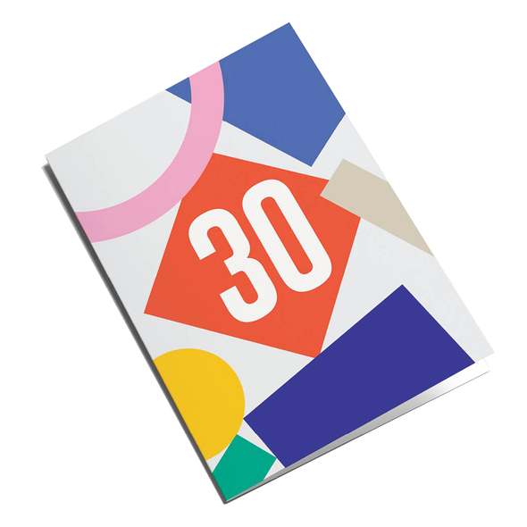 30 Card by Graphic Factory