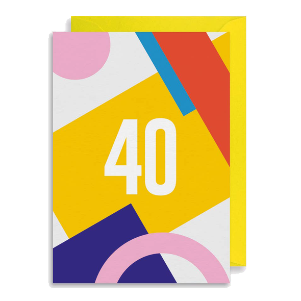 40 Card by Graphic Factory