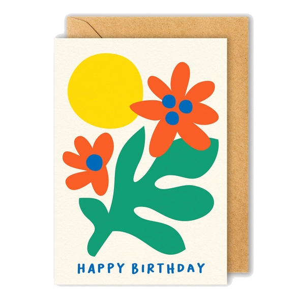 Happy Birthday Card by Graphic Factory