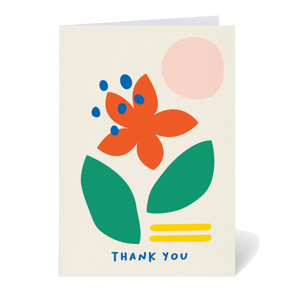 Thank You Card by Graphic Factory