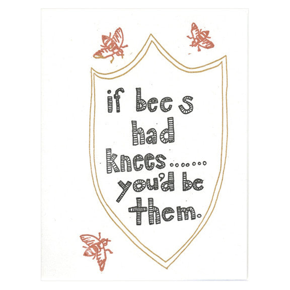 Bees Knees Card by The Great Lakes Goods