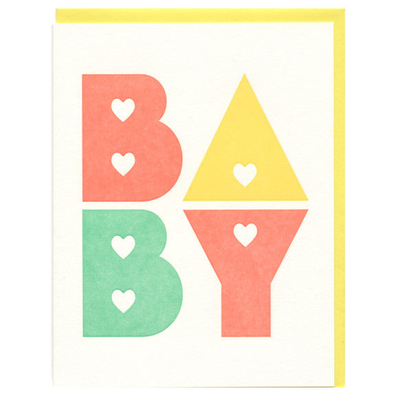 Baby Card by Greenwich Letterpress