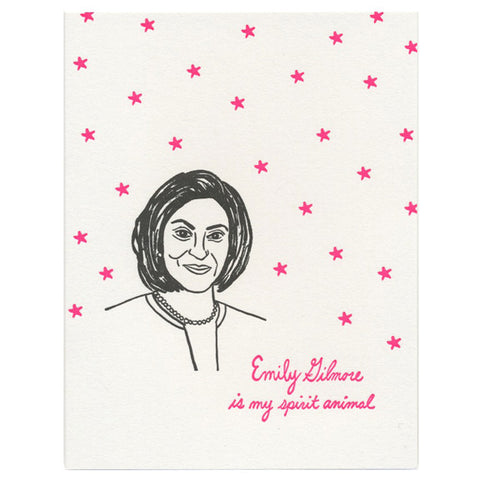 Gilmore Girls Emily Gilmore Card