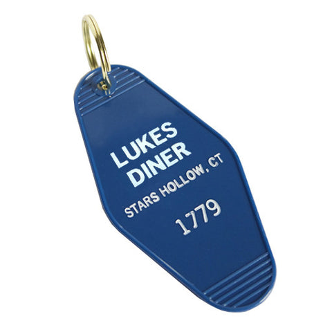 Gilmore Girls Luke's Diner Key Tag