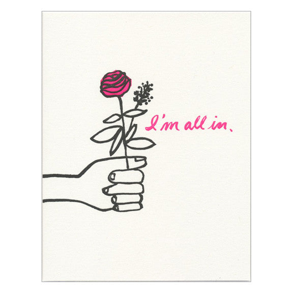 All In Card by Greenwich Letterpress