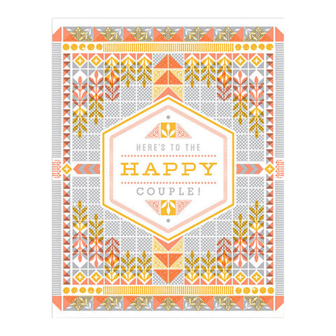 Here's to the Happy Couple Card by Hammerpress