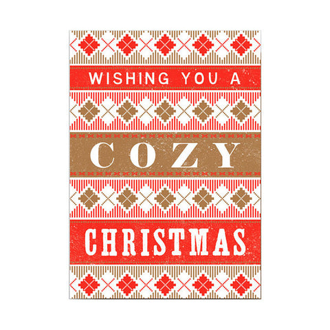 Cozy Christmas Card Set by Hammerpress