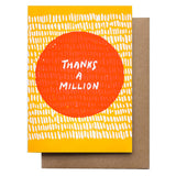 Thanks a Million Card by Hammerpress