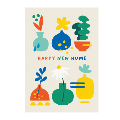 Happy New Home Card by Graphic Factory