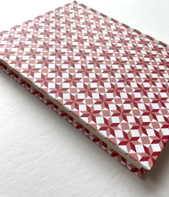 Hardcover Pattern Notebook by Beija-flor