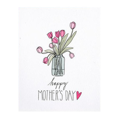 Mother's Day Tulips Card by Hartland