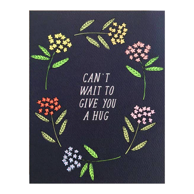 Can't Wait to Give You a Hug Card by Hartland