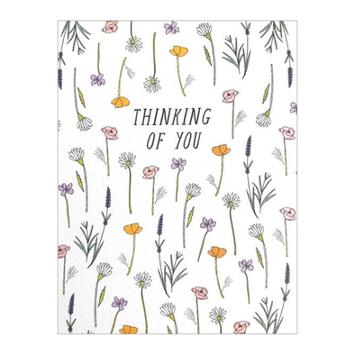 Thinking of You Wildflowers Card by Hartland