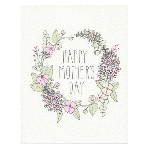 Mother's Day Wreath Card by Hartland