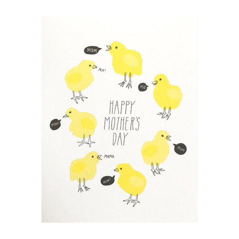 Mother's Day Chicks Card by Hartland