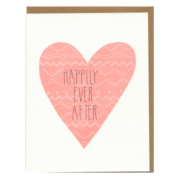 Happily Ever After Card by Hartland Brooklyn