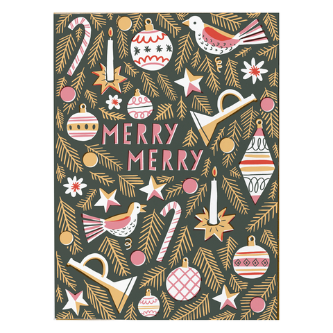 Merry Merry Card by Hello Lucky