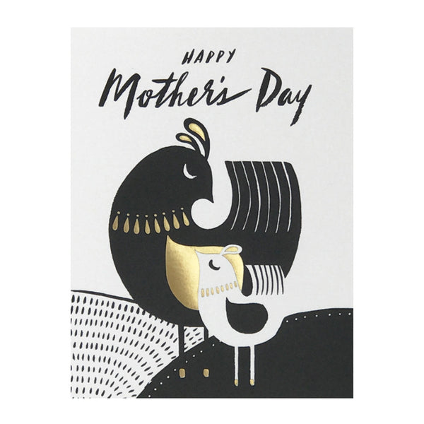 Mid Century Birds Mother's Day Card by Idlewild Co.
