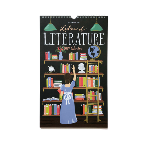 Ladies of Literature 2019 Calendar by Idlewild