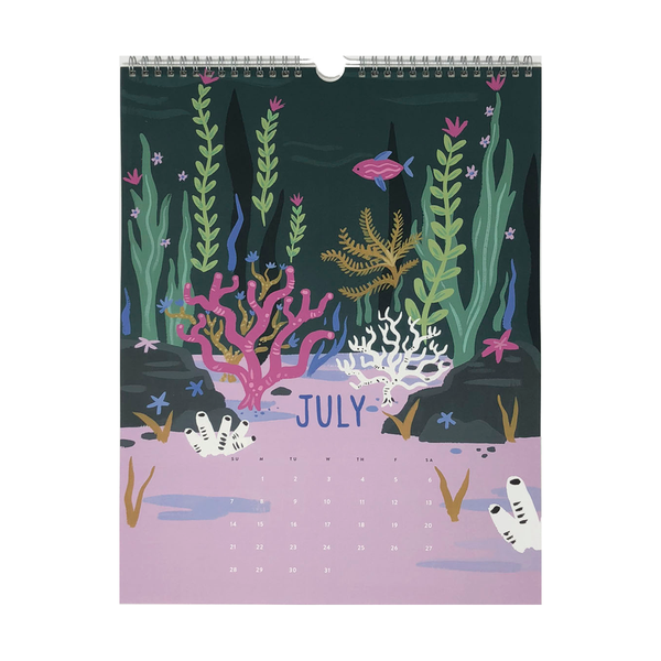 2019 Global Gardens Calendar by Idlewild