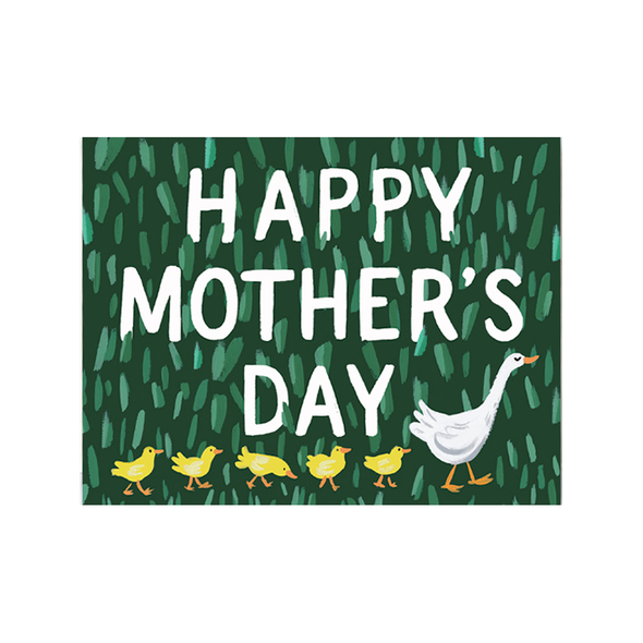 Mother's Day Goose Card by Idlewild
