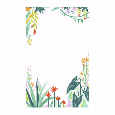 Tropic Garden Notepad by Idlewild