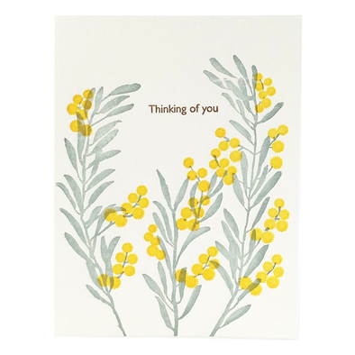 Acacia Thinking of You Card by Ilee