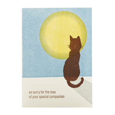 Cat Sympathy Card by Ilee
