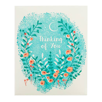 Flowers Thinking of You Card by Ilee