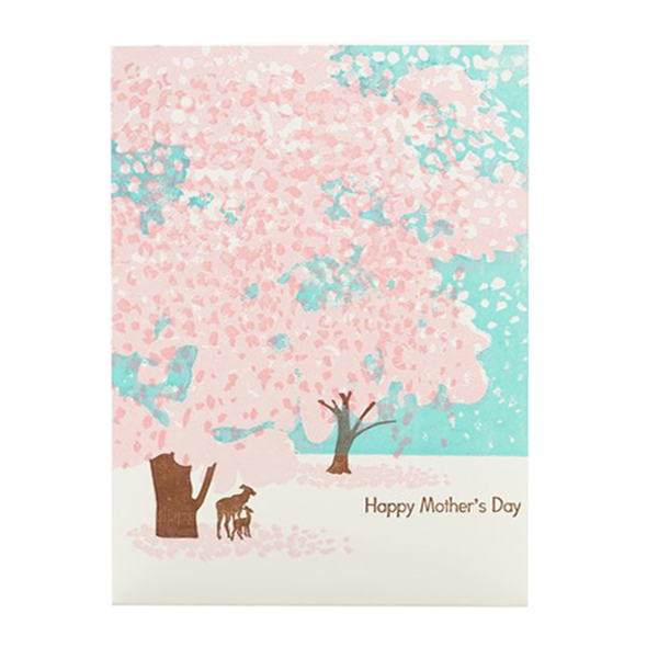 Happy Mother's Day Deer Card by Ilee
