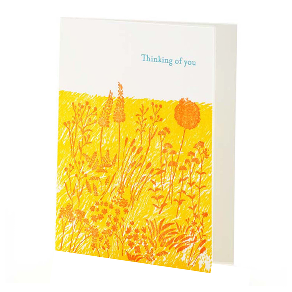 Meadow Thinking of You Card by Ilee