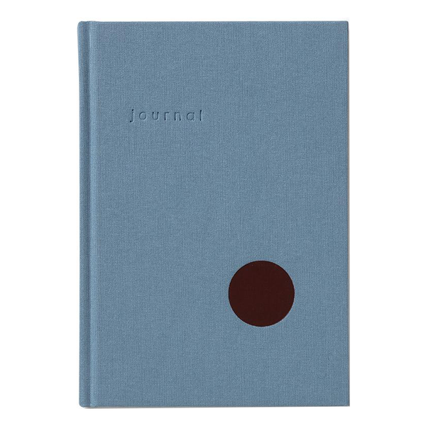 Light Blue Dot Journal (lined) by Kartotek
